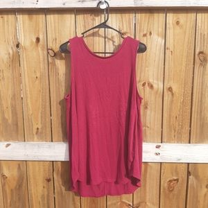 Old Navy Pink Lux Tank